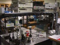 Infrared Laser Characterization Setup