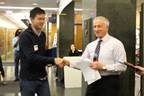 Wenjia Zhou Wins 3rd Place at 2016 EECS Poster Session