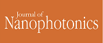 Certification of Appreciation from Journal of Nanophotonics