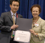 2009 SPIE Optical Science and Engineering Scholarship given to Binh-Minh Nguyen