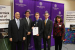 2009 The Boeing Company - The 2nd Place Engineering Student of the Year Award given to Pierre-Yves Delaunay